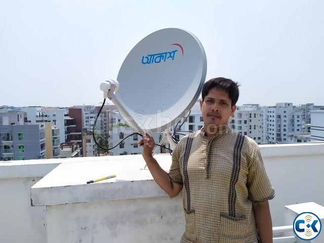 Akash DTH Device and Installation | ClickBD large image 3