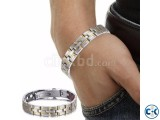 Men s Powerful Stainless Steel Bracelet-1pc