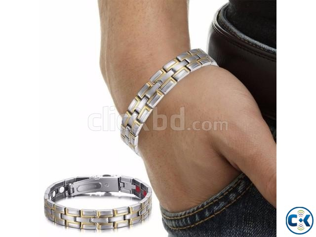 Men s Powerful Stainless Steel Bracelet-1pc | ClickBD large image 0