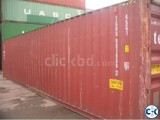 20.40 Feet Shipping Containers For Sale Bangladesh