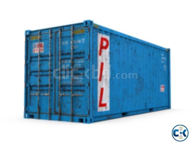 20.40 Feet Shipping Containers For Sale Bangladesh | ClickBD large image 1