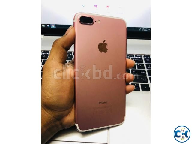 IPhone 7 Plus 256 GB Rose gold Charger Back cover | ClickBD large image 1