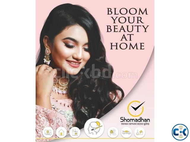 Makeup Hairstyle Service at Your Doorstep Shomadhan | ClickBD large image 0