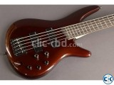 Ibanez sr305 5 string bass guitar