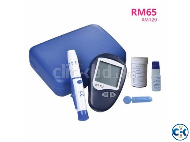 Blood glucose monitoring system | ClickBD large image 1