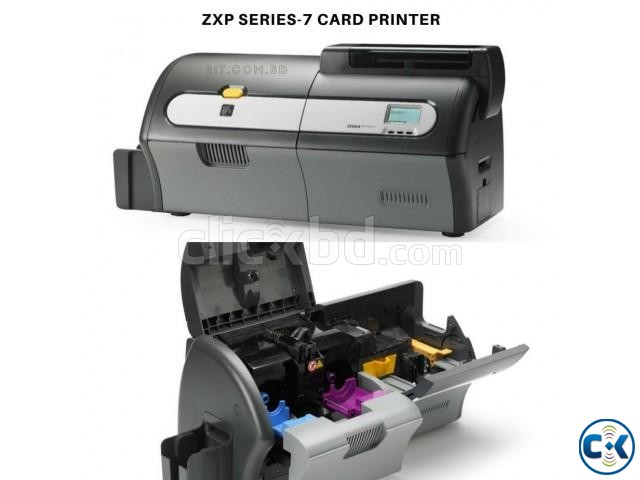 Zebra ZXP Series-7 ID Card Printer | ClickBD large image 1