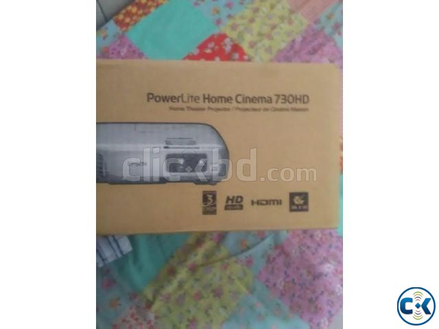 Epson Home Cinema 730HD HDMI 3LCD 3000 Lumens | ClickBD large image 1