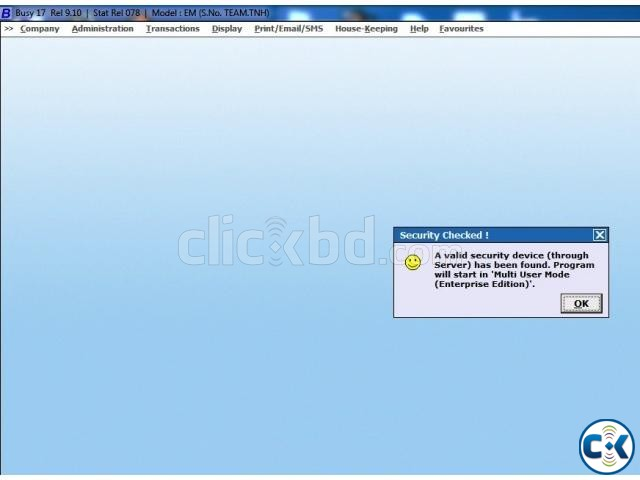 Busy Accounting Software 17 Rel.9.10 Lifetime Used | ClickBD large image 0
