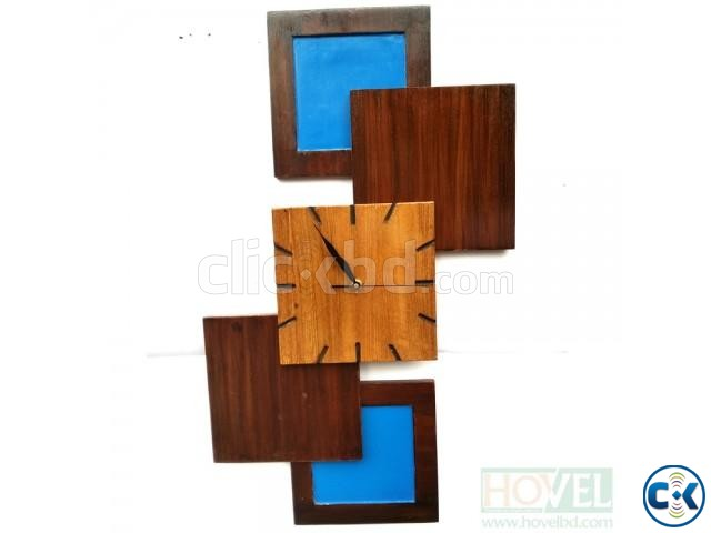 Design Five Wooden Wall Clock | ClickBD large image 0