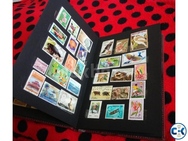 New 200 Stamps with Albam Combo | ClickBD large image 0