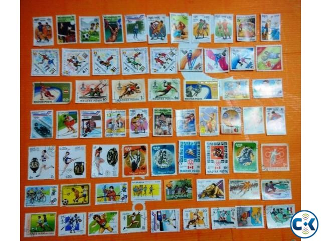 Olympic Games Sports Stamps 64 pcs  | ClickBD large image 0