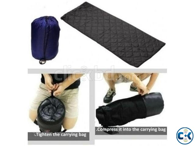 Roll Up Camping Sleeping bed Bag Single Visitor | ClickBD large image 0