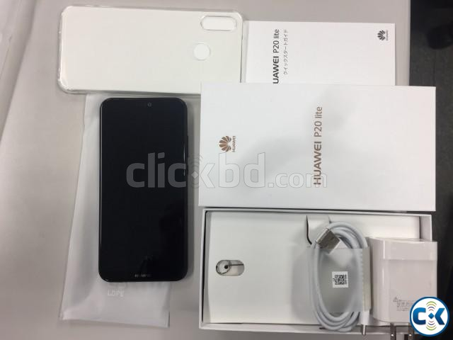 Huawei P20 lite 32GB New Form Japan | ClickBD large image 1