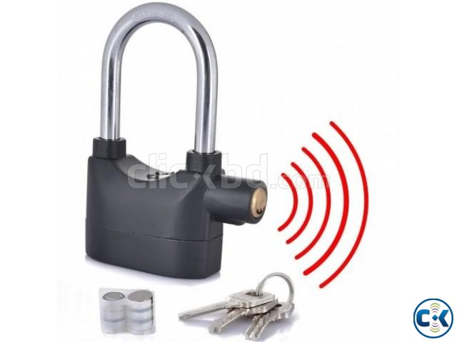 Security Alarm Lock | ClickBD large image 1