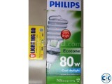 PHILIPS TORNADO SPIRAL 80W OUTPUT X 5 E27 6500K ENERGY SAVER