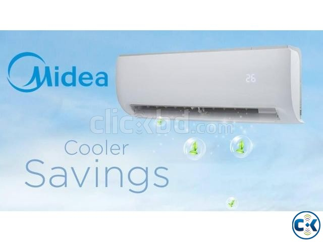 MIDEA 1.5 Ton Air Conditioner AC Split Wall Mounted | ClickBD large image 1