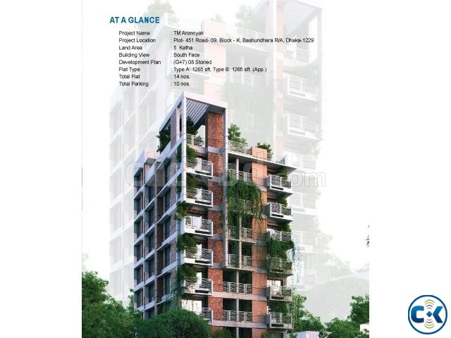 1265 2530 sft flat sale at Bashudhra R A | ClickBD large image 3