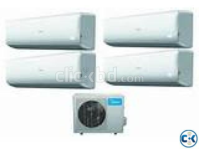MIDEA 2 Ton Split Wall Mounted Air Conditioner AC | ClickBD large image 0