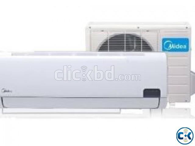 MIDEA 2 Ton Split Wall Mounted Air Conditioner AC | ClickBD large image 1