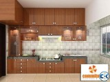 Kitchen Wall Cabinet False Ceiling TV wall 3D Modeling