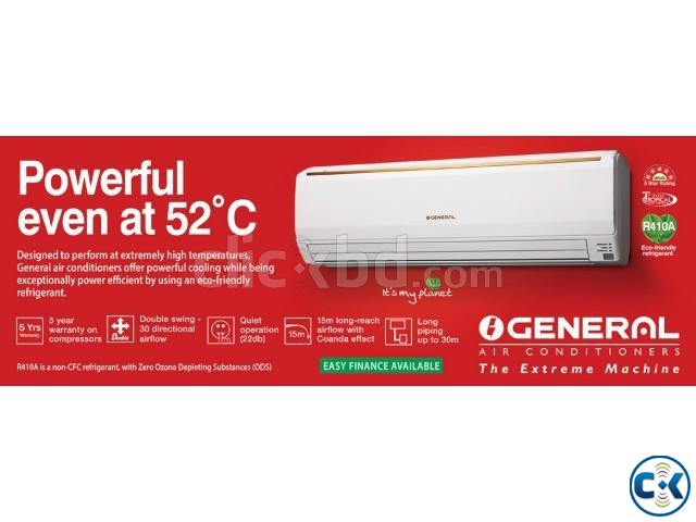 O General 1.5 Ton 18000 BTU Air Conditioner | ClickBD large image 0