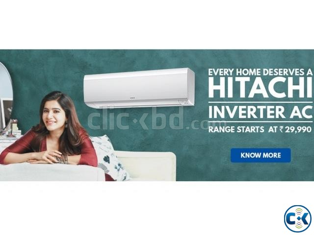 Hitachi Inverter Air Conditioner AC 1.5 Ton RAS-DX18CJ | ClickBD large image 1