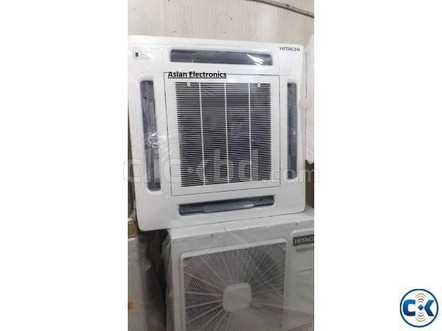 HITACHI 5 Ton Air Conditioner Ceilling Cassette Type | ClickBD large image 1