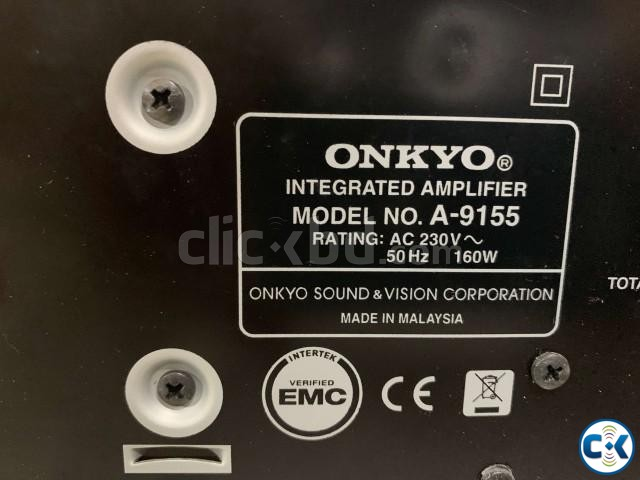 ONKYO A-9155 Integrated Stereo Amplifier with Remote | ClickBD large image 2