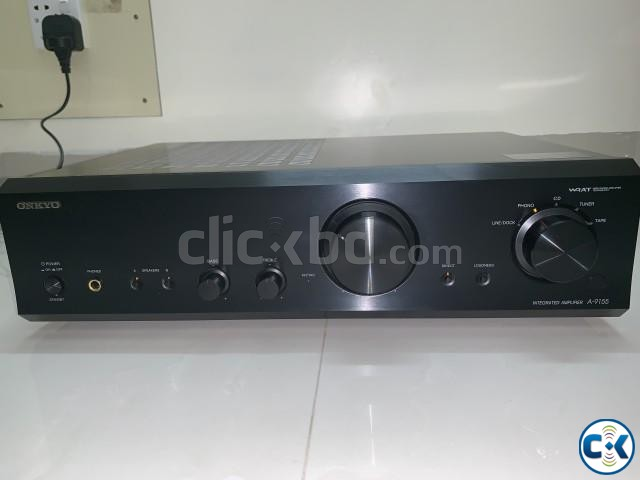 ONKYO A-9155 Integrated Stereo Amplifier with Remote | ClickBD large image 4