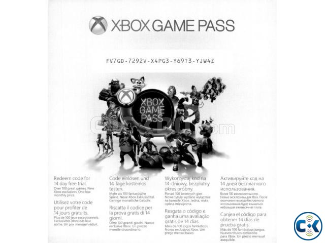 Xbox game pass 1 month | ClickBD large image 0