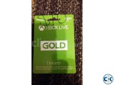 XBOX GOLD GIFT CARD 1 MONTH