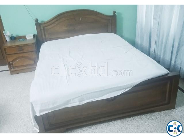 Segun Wood Made Master Bed For Sale | ClickBD large image 0