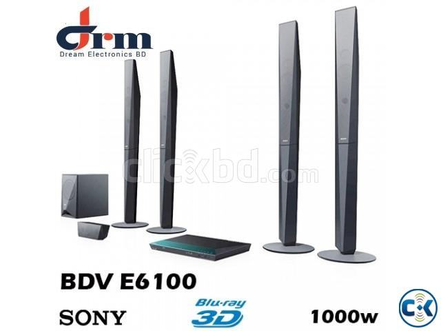 Sony BDV-E6100 Blu-ray 3D player home theater system | ClickBD large image 0