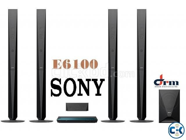 Sony BDV-E6100 Blu-ray 3D player home theater system | ClickBD large image 3