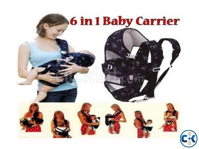 6 In 1 soft Baby Carrier | ClickBD large image 1