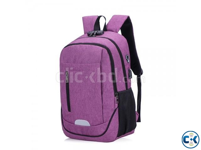 best waterproof anti theft backpack | ClickBD large image 1