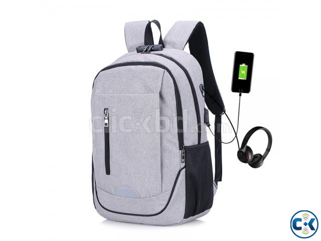 best waterproof anti theft backpack | ClickBD large image 2