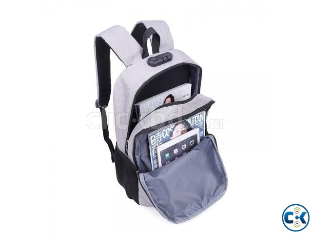 best waterproof anti theft backpack | ClickBD large image 3