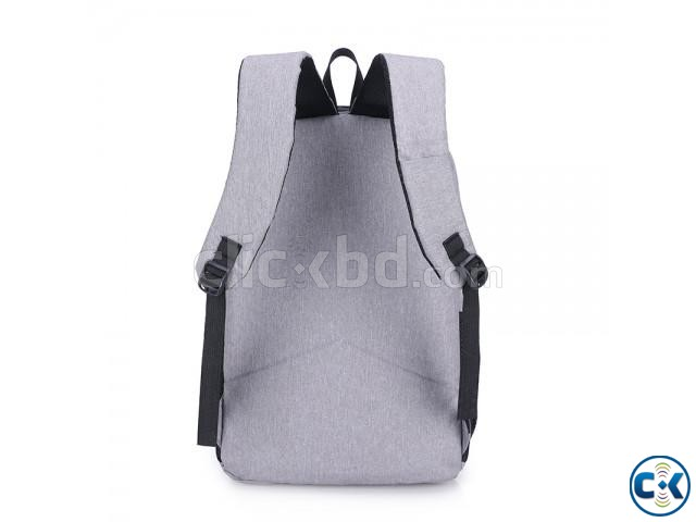 best waterproof anti theft backpack | ClickBD large image 4