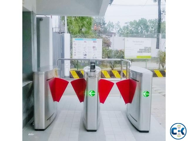 Automatic Flap barrier | ClickBD large image 2