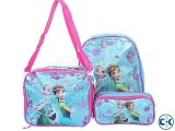 Frozen Backpack Kids School Bag Set