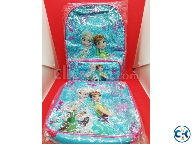 Frozen Backpack Kids School Bag Set | ClickBD large image 2