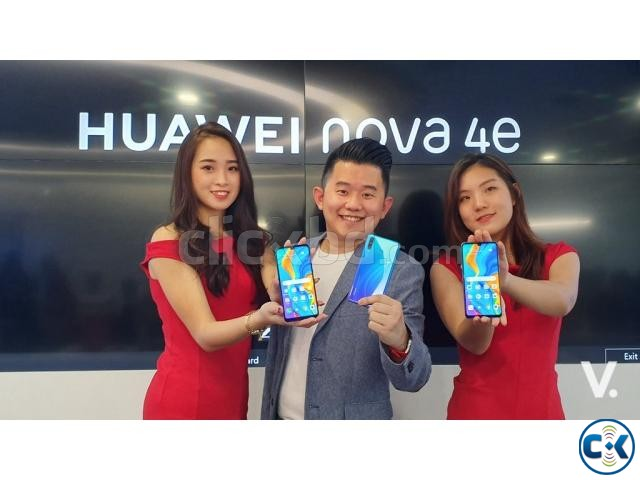 Brand New Huawei Nova 4e 128GB Sealed Pack With 3 Yr Wrrnty | ClickBD large image 2