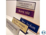 Name Plates Stainless Steel Makers Price in Dhaka Bangladesh