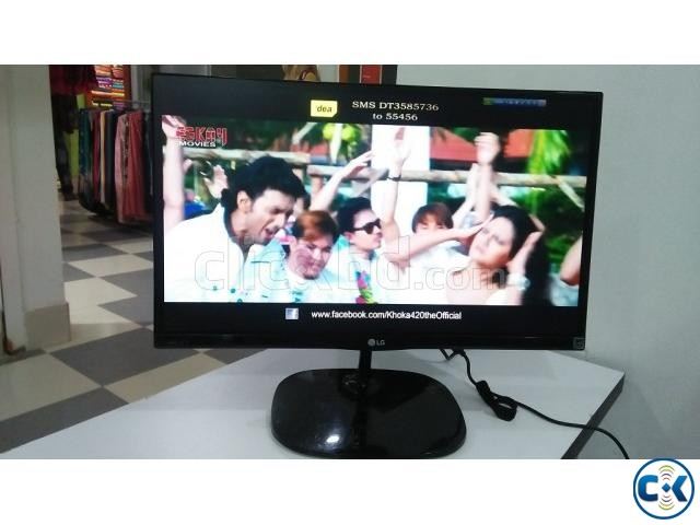 LG 22 Border Less LED | ClickBD large image 0