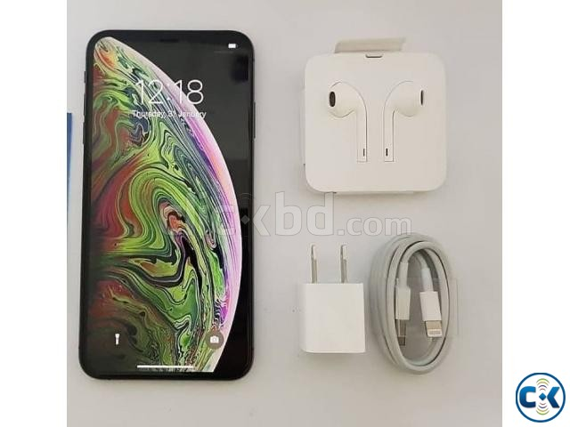 Brand New Condition iphone Xs Max physical Dual 3 Yrs Wnty | ClickBD large image 0