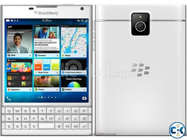 Brand New Condition Blackberry Passport 3 Yrs Warranty | ClickBD large image 1