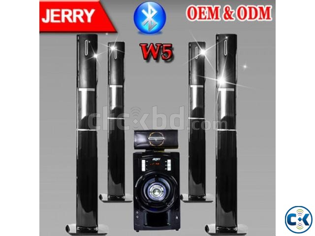 JERRY-W5 5.1 Home Theater Speaker System | ClickBD large image 0