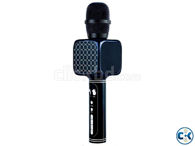 Karaoke Wireless Bluetooth Microphone Speaker Best Quality | ClickBD large image 3