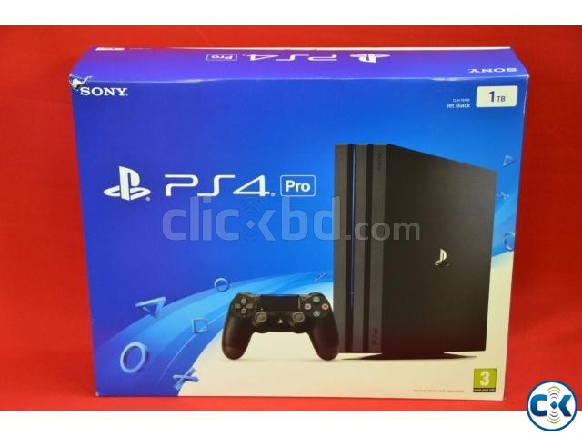 PS4 Pro 1TB and Game | ClickBD large image 0